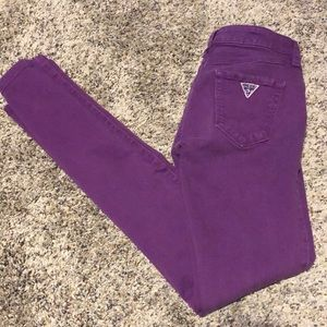 Guess Purple Skinny